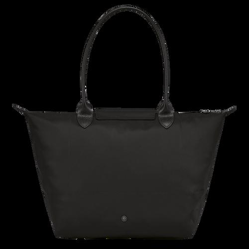 Longchamp x EU 肩揹袋 L, 黑色