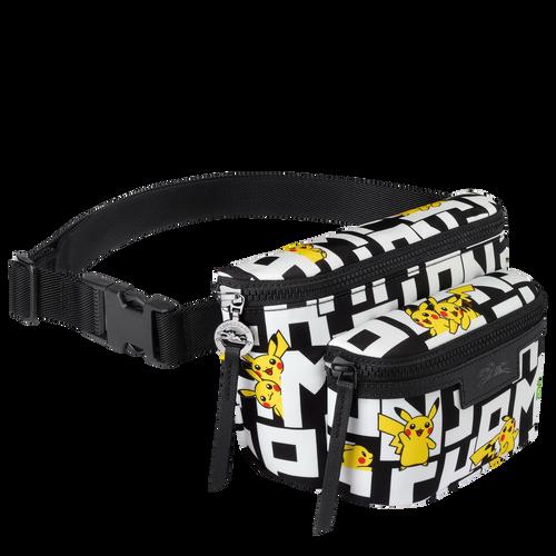 Belt bag M, Black/White - View 2 of  2 -