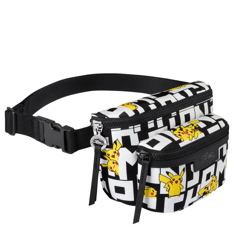 Belt bag M, Black/White - View 2 of  2 - zoom in