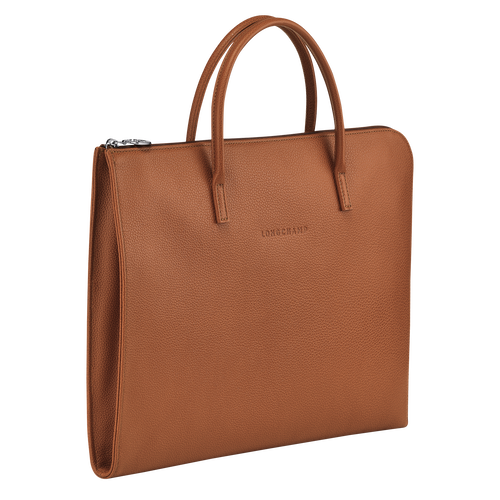 Briefcase S, Caramel - View 2 of 3 -
