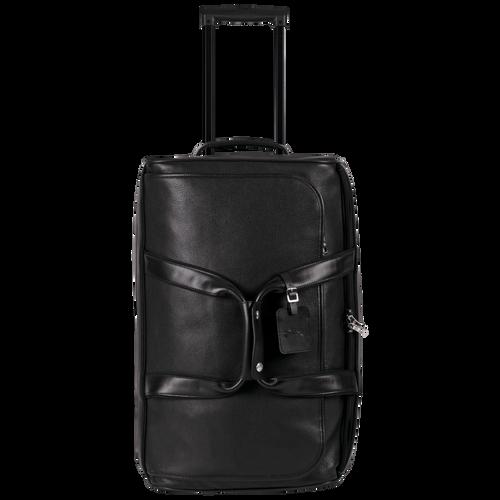 Reisetasche mit Rollen, Schwarz - Ansicht 1 von 3 -