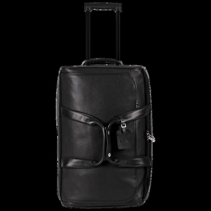 Reisetasche mit Rollen, Schwarz - Ansicht 1 von 3 - Zoom vergrößern