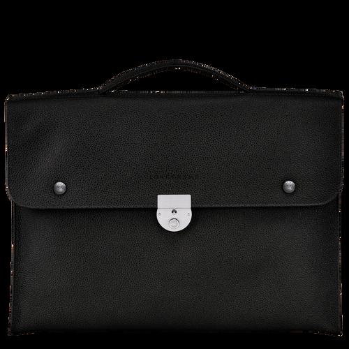 View 1 of Briefcase S, Black, hi-res