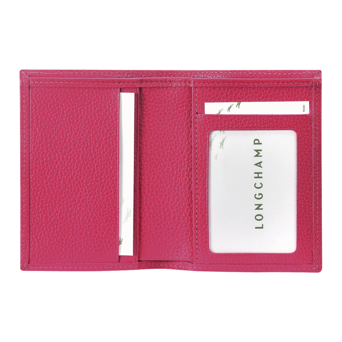 Card holder, Pink/Silver - View 3 of  3 - zoom in
