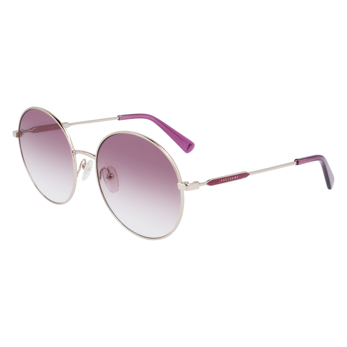 Sunglasses, Gold/Violet - View 2 of  2 - zoom in
