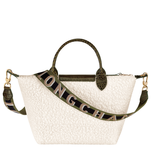 Le Pliage Collection Top handle bag S, Ivory