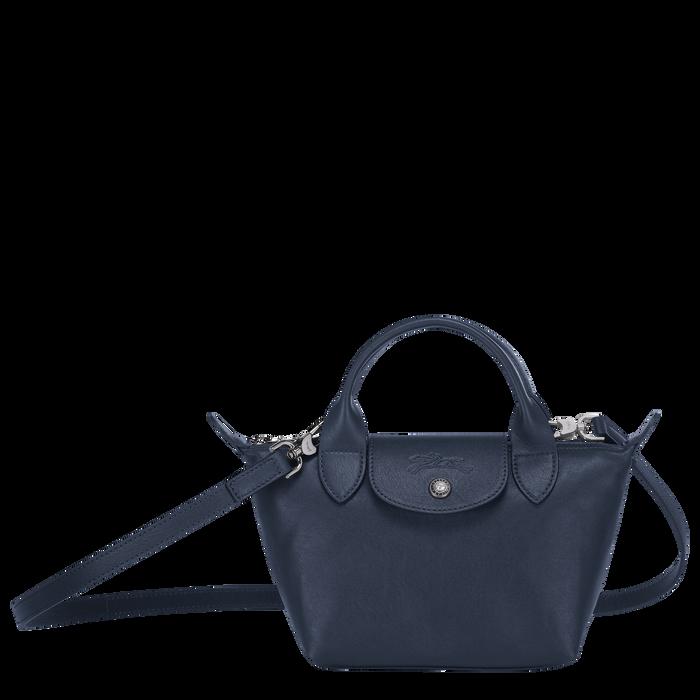 Top handle bag XS, Navy - View 1 of  5 - zoom in