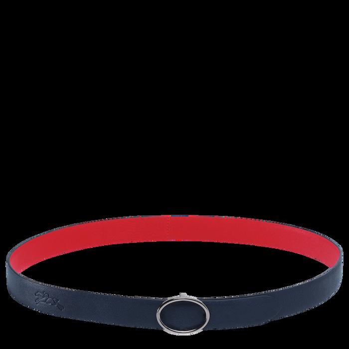 Ladies' belt, Navy/Red, hi-res - View 1 of 1