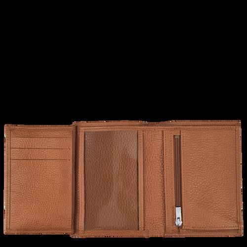 Portefeuille Le Foulonné Caramel (L3528021F72) | Longchamp FR