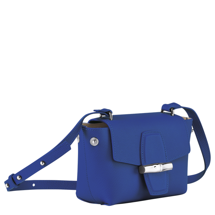 Crossbody bag S, Blue - View 3 of 4 - zoom in