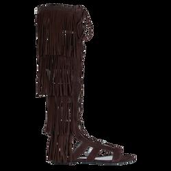 Sandales plates, 703 Ebène, hi-res