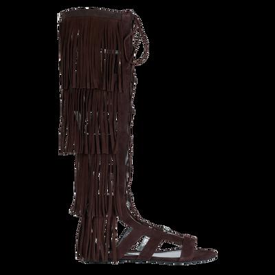 Weergave 1 van Platte sandalen bekijken