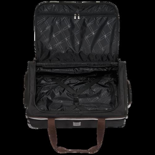 Reisetasche mit Rollen, Schwarz/Ebenholz - Ansicht 3 von 3 -