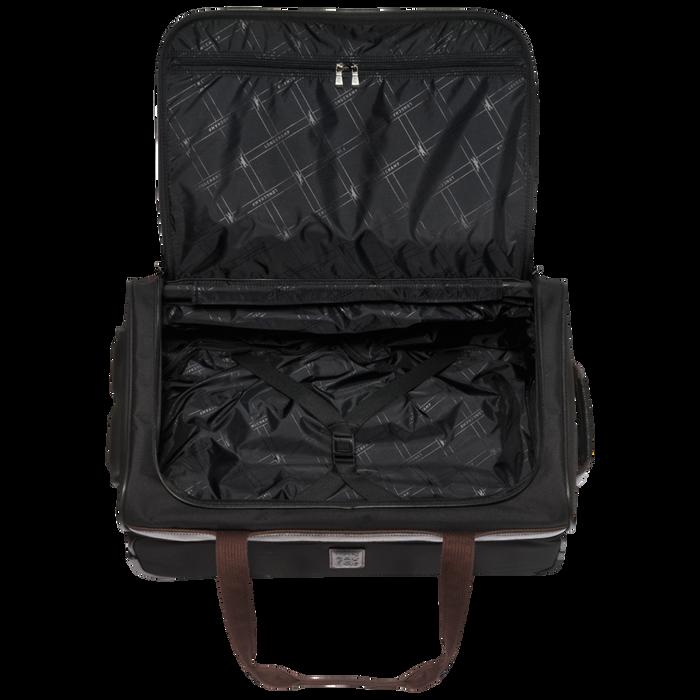 Reisetasche mit Rollen, Schwarz/Ebenholz - Ansicht 3 von 3 - Zoom vergrößern