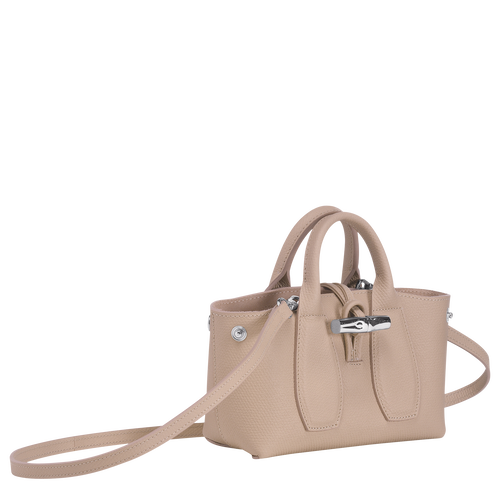 Top handle bag S, Sand, hi-res - View 3 of 4