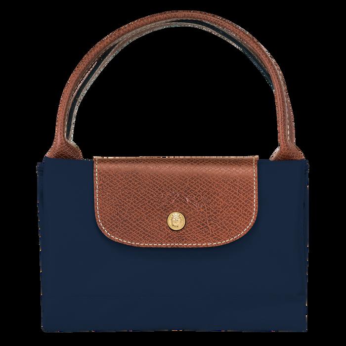 Le Pliage Original Top handle bag M, Navy