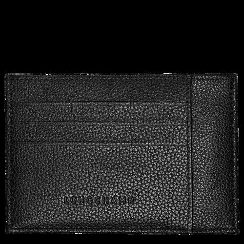 Card holder Le Foulonné Black (L3121021047) | Longchamp US