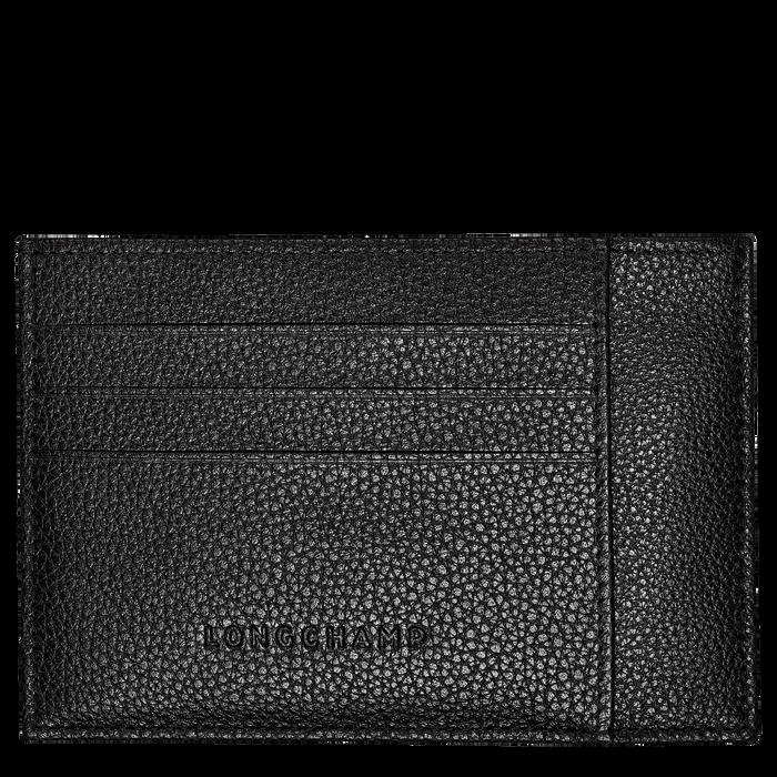 Card holder Le Foulonné Black (L3121021047) | Longchamp DK