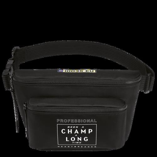 Longchamp x EU Sac banane, Noir