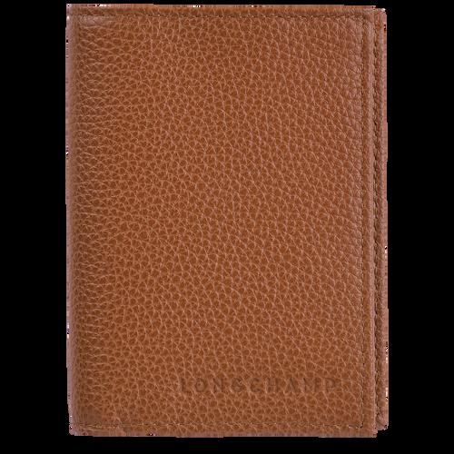 Porte-cartes Le Foulonné Caramel (L3572021F72) | Longchamp FR