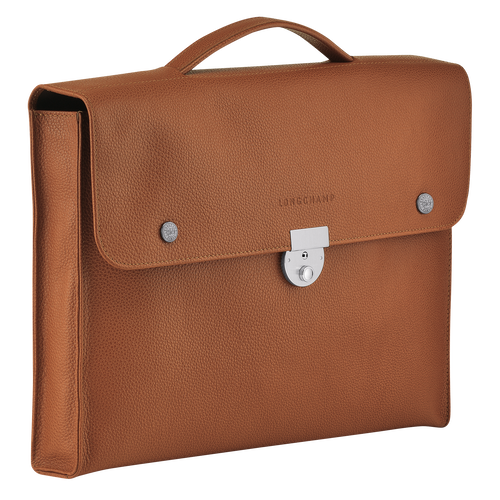 View 2 of Briefcase S, Caramel, hi-res