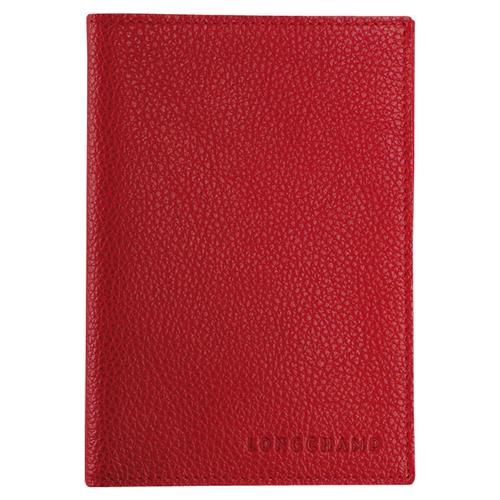 Étui passeport, 608 Vermillon, hi-res