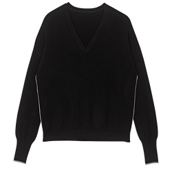 Pullover, 001 Black, hi-res
