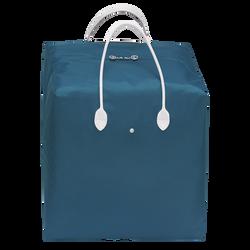 Handtasche L, E62 Blau/Weiss, hi-res