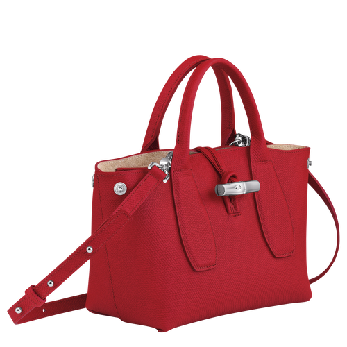 Top handle bag S, Red, hi-res - View 3 of 4