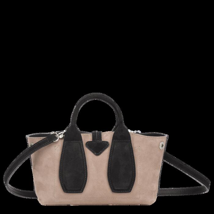 Top handle bag S, Hazelnut, hi-res - View 3 of 4