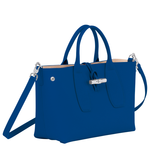 Top handle bag M, Blue - View 3 of  4 -