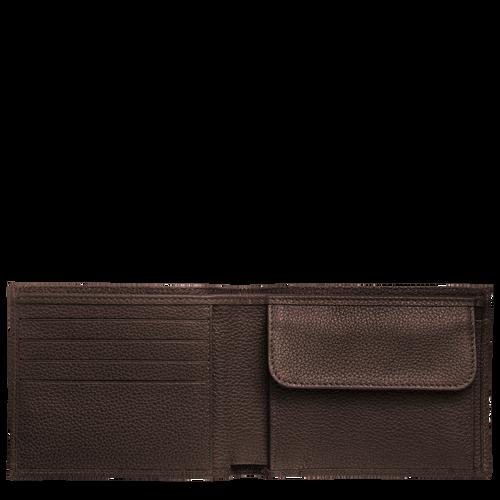 Wallet Le Foulonné Mocha (L4240021002) | Longchamp DK