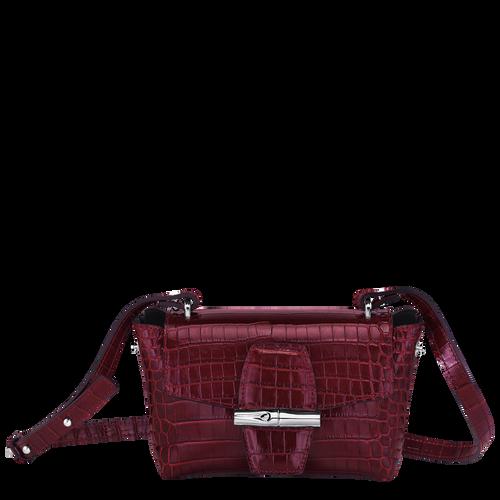 Sac porté travers XS Roseau Bordeaux (10115HTS009) | Longchamp BE
