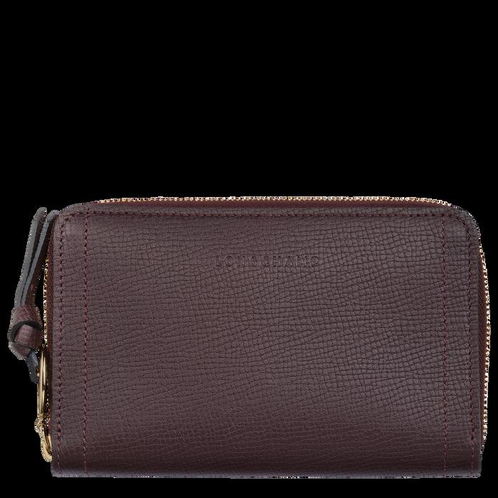 Mailbox Compact wallet, Aubergine