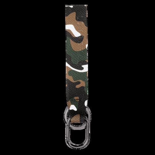Vue 1 de Porte-clés, Kaki, hi-res