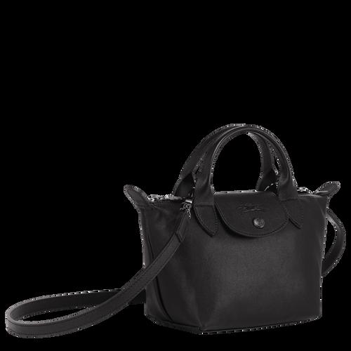 Top handle bag XS, Black/Ebony - View 2 of  6 -