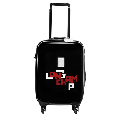 View 1 of Small wheeled suitcase, Black, hi-res