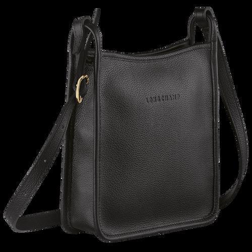 Zipped crossbody bag S Le Foulonné Black (10138021001) | Longchamp US