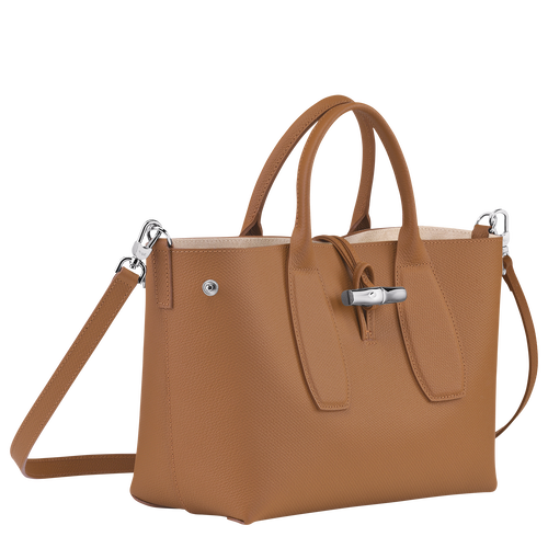 Top handle bag M, Natural - View 3 of  4 -