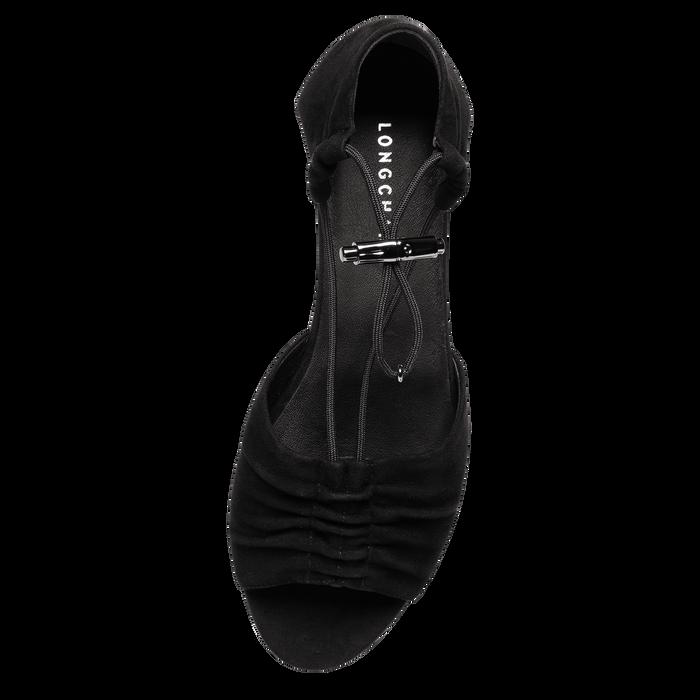 平底涼鞋, 黑色, hi-res - 3 的視圖 3
