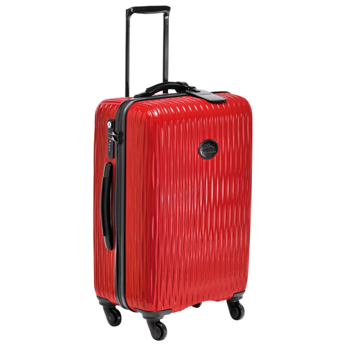 Wheeled suitcase, Red, hi-res - View 2 of 3