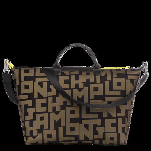 Travel bag, Black/Khaki, hi-res - View 3 of 3