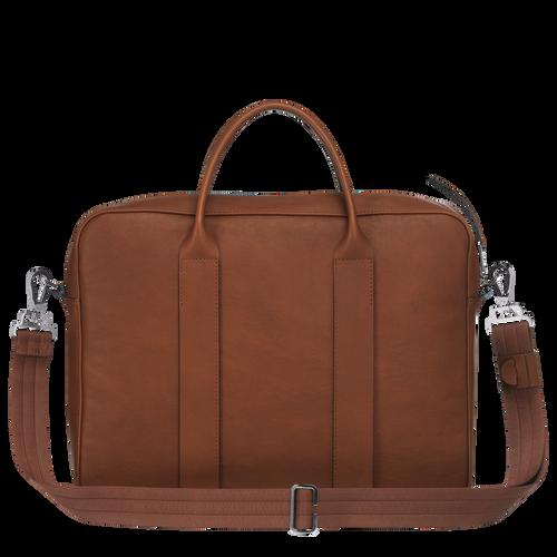 Briefcase M, Cognac, hi-res - View 3 of 3
