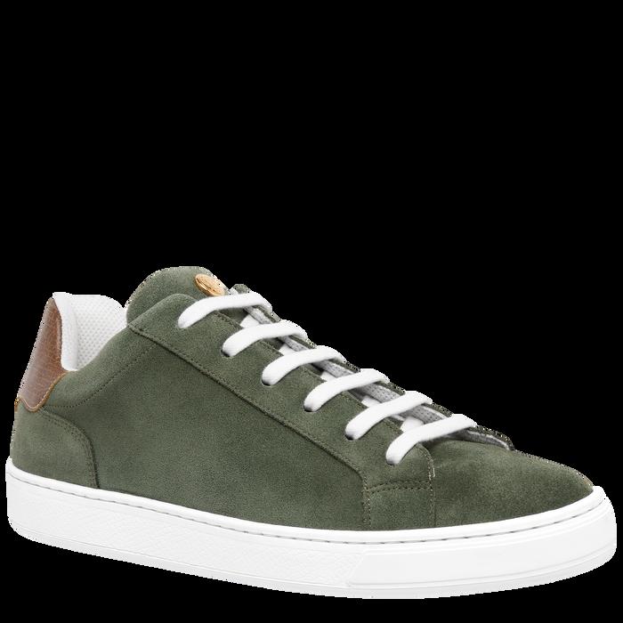 Sneakers, Vert Longchamp - Vue 2 de 5 - agrandir le zoom