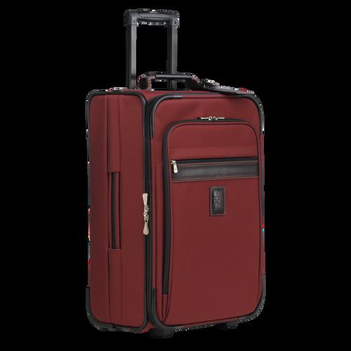 Handgepäck-Koffer, Lackrot - Ansicht 2 von 3 -