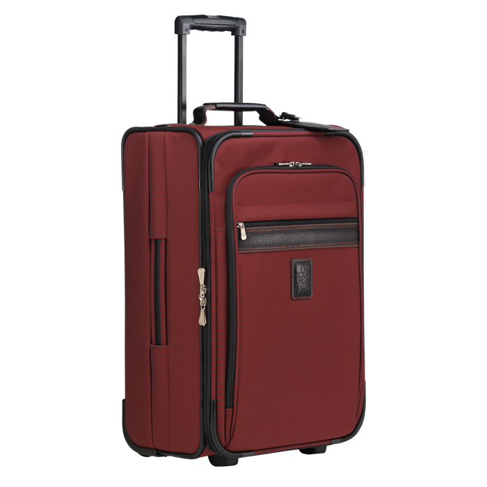 Valise cabine, Rouge Laque - Vue 2 de 3 - agrandir le zoom