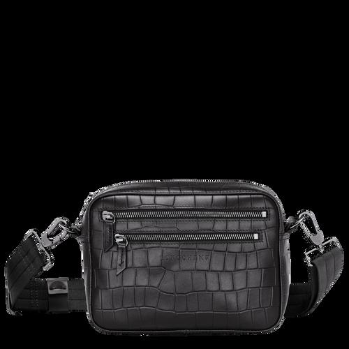 斜背袋, 黑色, hi-res - 1 的視圖 3