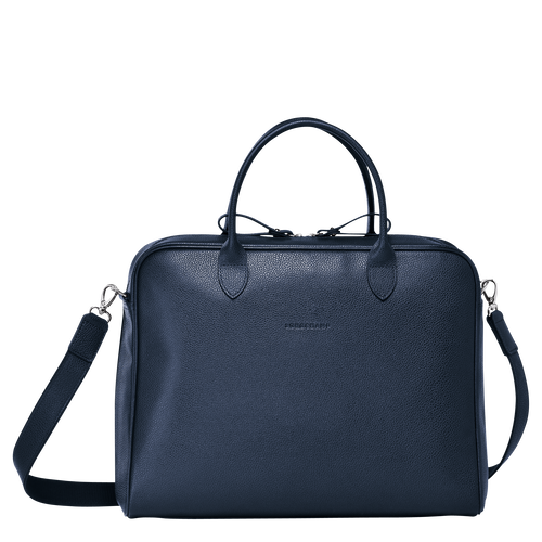 Briefcase M, Navy, hi-res - View 1 of 3