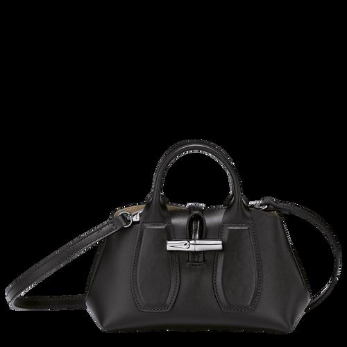 Top handle bag XS Roseau Black (10057HSC001) | Longchamp US