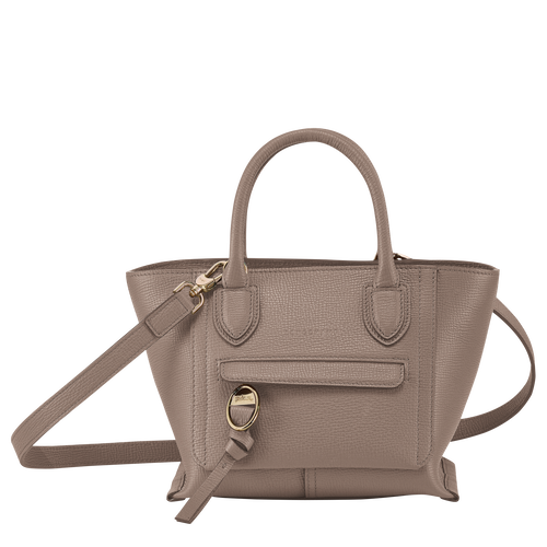 Top handle bag S, Taupe - View 1 of  3 -